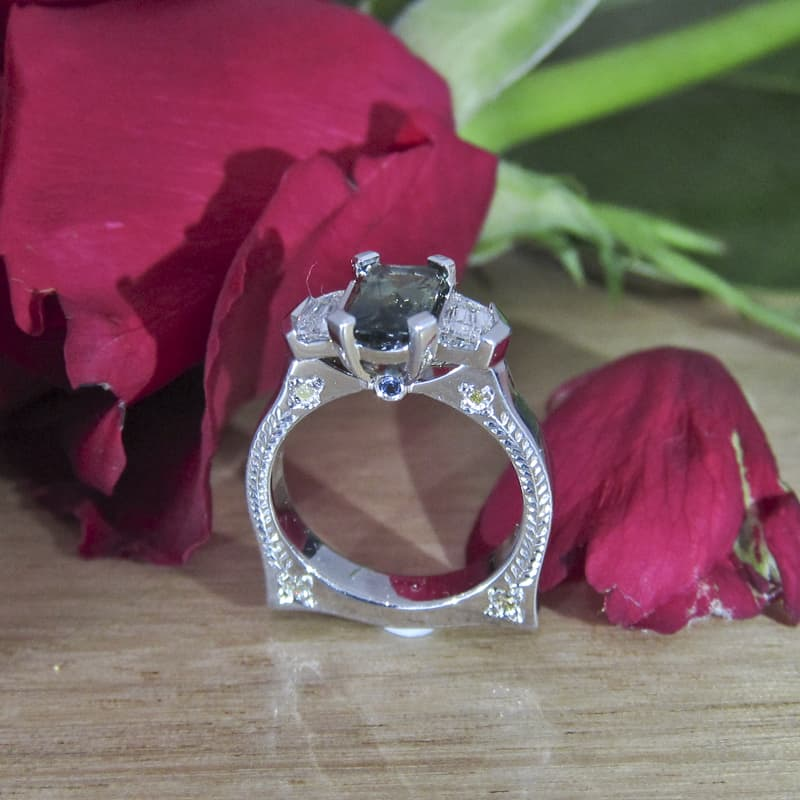 Diamond, Sapphire custom make