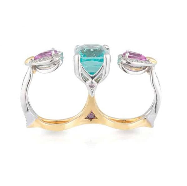 Aquamarine Tammy Ring