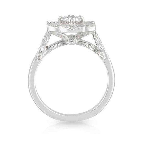 Spider Web Diamond Ring