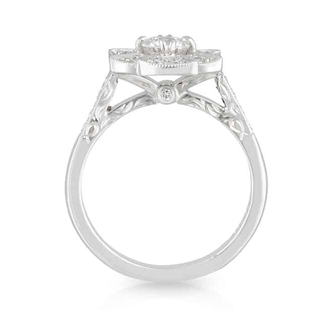 Spider Web Diamond Ring