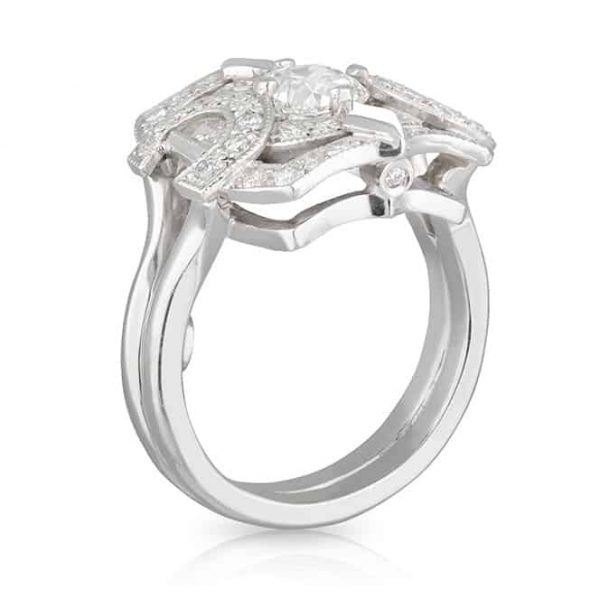 Diamond Crest Ring