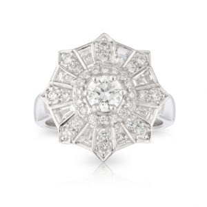 Diamond Fireworks Ring