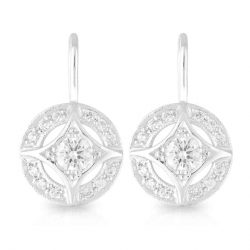 Tammy Diamond Drop Earrings