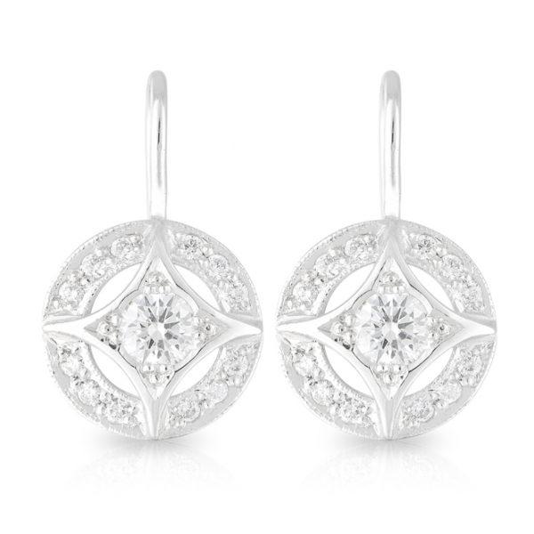 Tammy Diamond Drop Earrings