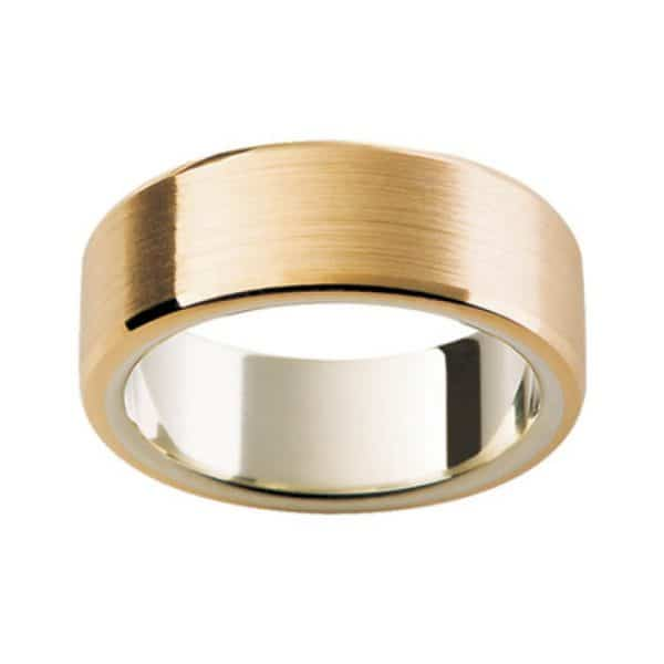 Gents Yellow Gold Wedding Band